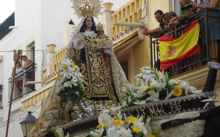 Procesión Virgen del Carmen en Torremolinos