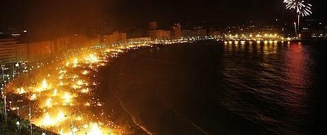 Noche de San Juan en la Costa del Sol