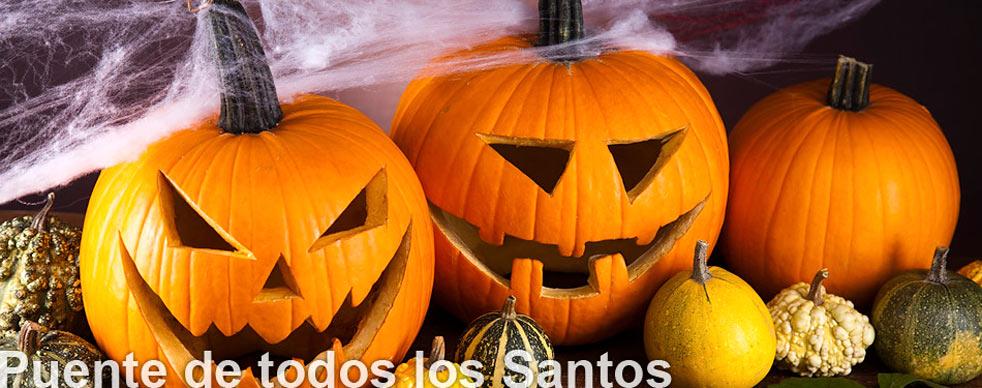 Puente de Todos los Santos y Halloween