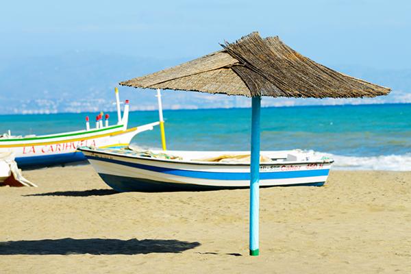 playa la carihuela torremolinos